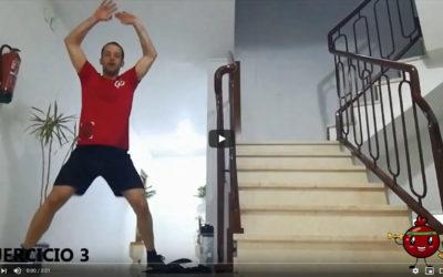 Antonio López – Rutina de entrenamiento #3