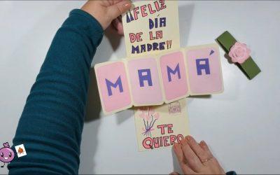 Tarjeta regalo para el Día de la Madre