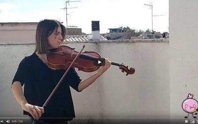 Celia Amor versiona el 'Hallelujah' de Leonard Cohen con su viola