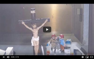 Miguel Ángel recrea el Jueves Santo