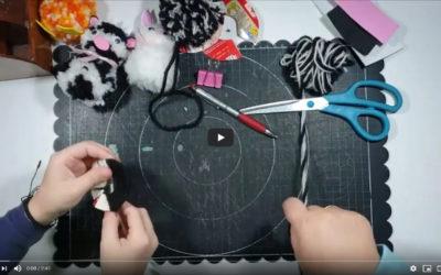 Lola García nos enseña a hacer animales de lana