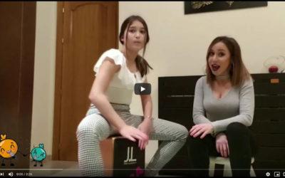 Marisa y Magdalena dan comienzo al Reto Musical